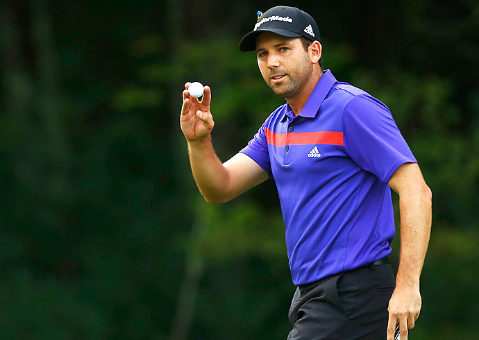 Garcia is winless on the PGA Tour so far in 2013. He leads Henrik Stenson by two.
