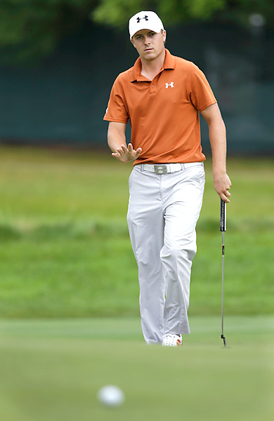 Jordan Spieth, 19, was chasing his first career PGA Tour victory. He shot 73 and tied for 23rd.