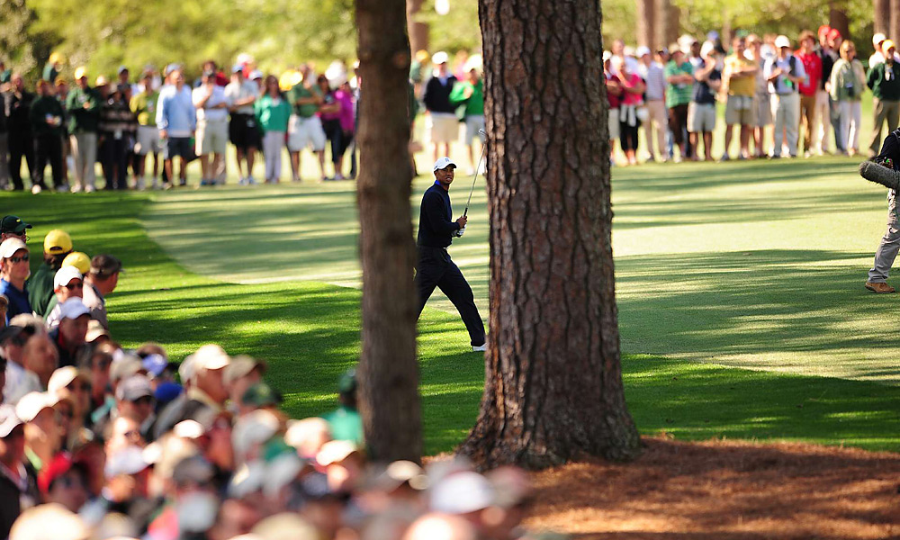 Woods finished T40 at Augusta.