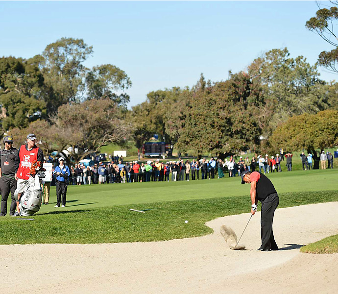 It was Woods's eighth career title at Torrey Pines.