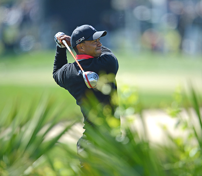 Woods made two double bogeys, four bogeys, two birdies and an eagle in his roller-coaster final round.