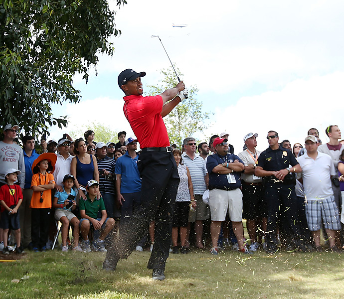 Woods ended a WGC drought at the 2013 Cadillac Championship at Doral. He beat Steve Stricker by two shots for his seventh career victory at the Blue Monster.