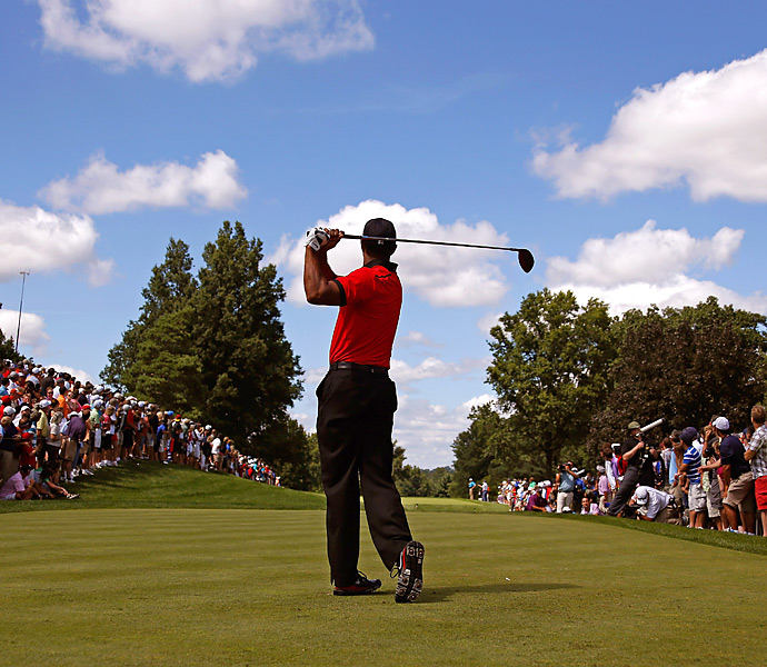 Woods went on to shoot an even-par 70 for his fifth title of the season.