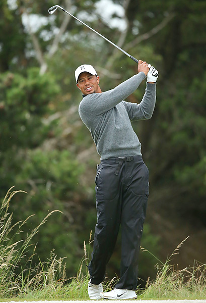 Woods last won the British Open in 2006.