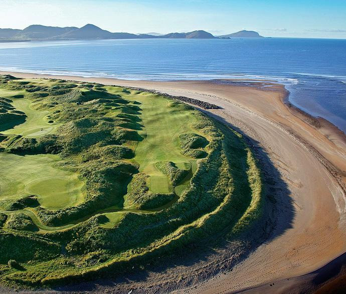 "Waterville (No. 76 on Top 100 Courses in the World): ""What a challenge!  A big strong tough links golf course where you feel at the edge of the world as you are out there on the South West coast of Ireland.""More Top 100 Courses in the World: 100-76 75-5150-2625-1"