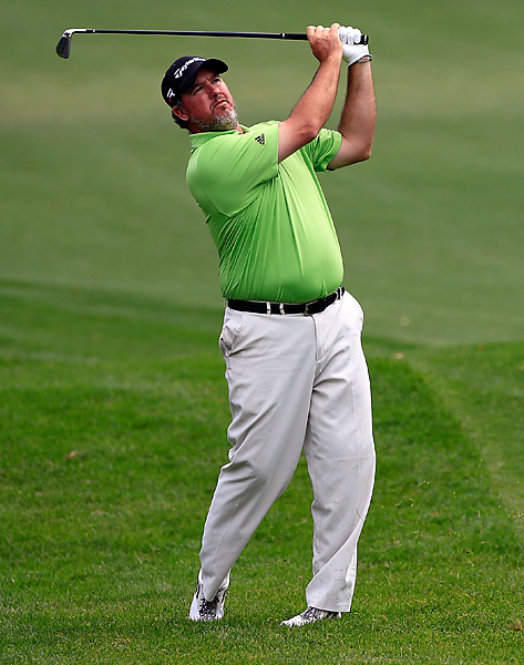 Boo Weekley shot a bogey-free 63 and held the clubhouse lead for a few hours before Streelman eventually clipped him by two shots.