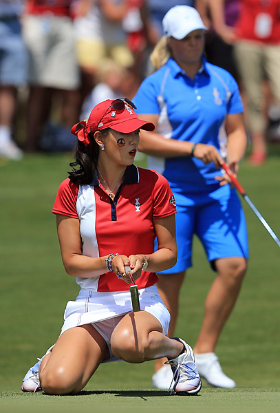 Wie was a controversial captain's pick, but she played well all week.