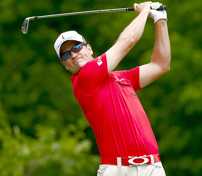 Defending champion Zach Johnson shot a 66 and finished third.