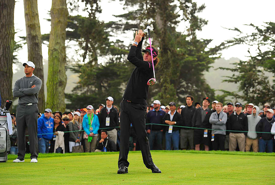 """""""It's a lot better than I am,"""" Watson said of the course. """"That golf course is too tough for me."""""""