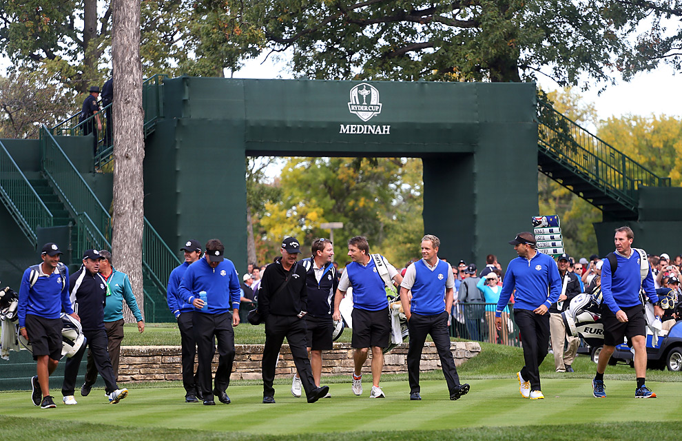 The European team is seeking a second straight victory this week.