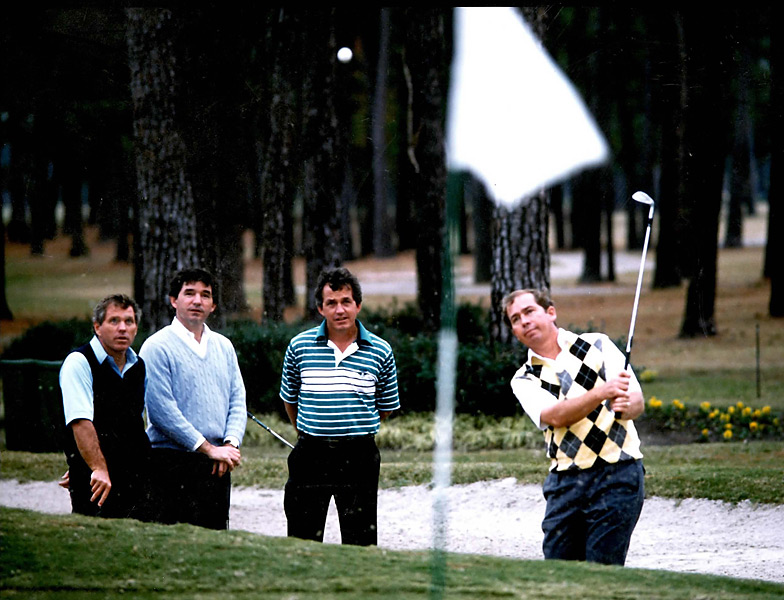The Harmon boys, from left, Butch, Craig, Bill and Dick in 1997.                                                          Related: Read the story from the August 2012 issue of Golf Magazine