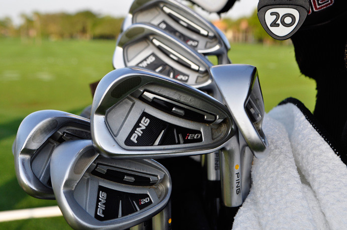 Lee Westwood swears by Ping i20 irons.