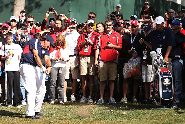 Phil Mickelson is 11-17-6 in his career entering this week's event.