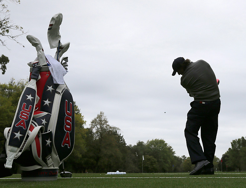 Phil Mickelson is ranked 16th in the world entering the Ryder Cup.