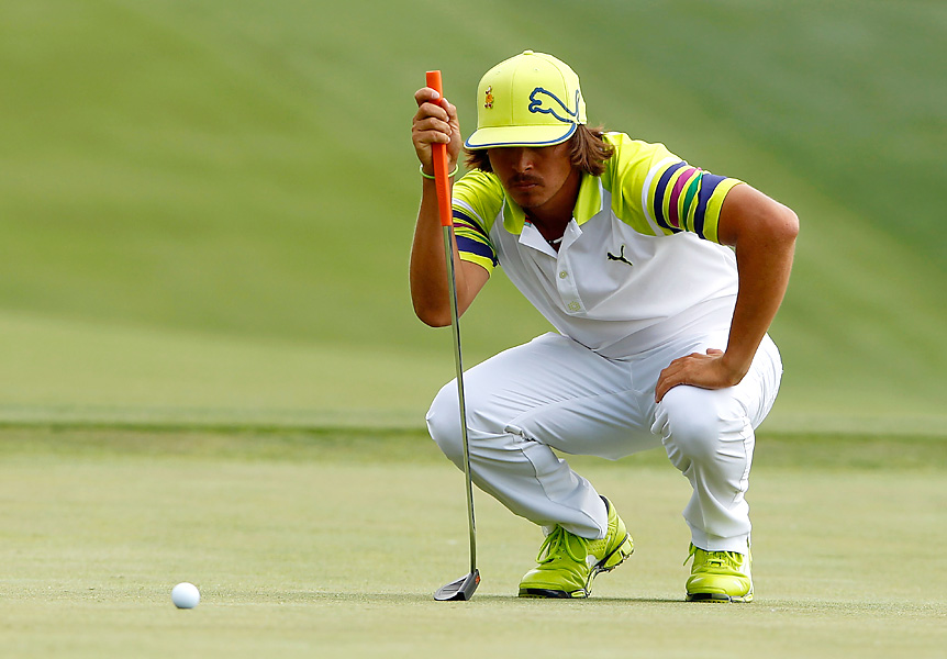 Rickie Fowler shot a 67 to pull within three shots of the lead.