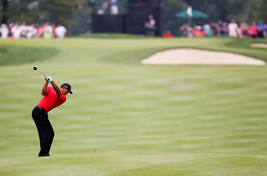 Woods will chase his 15th career major this week at the PGA Championship.
