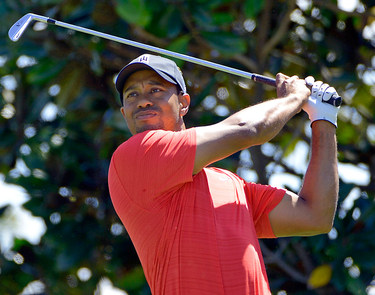 Woods improves to No. 6 in the world rankings.