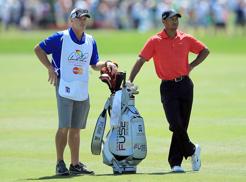 Woods was seeking his first full-field victory with caddie Joe LaCava on the bag.It was Woods's victory with caddie Joe LaCava on the bag.