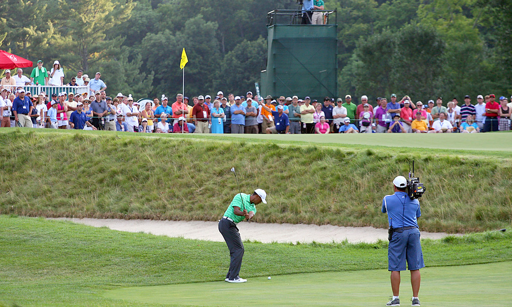 Woods followed up his third win of the season with his second missed cut. He shot 71-69 at the Greenbrier Classic and failed to advance to the weekend.