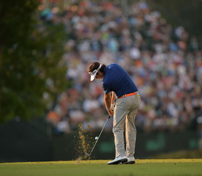 Bubba Watson finished at 13 over and a tie for 32nd place.