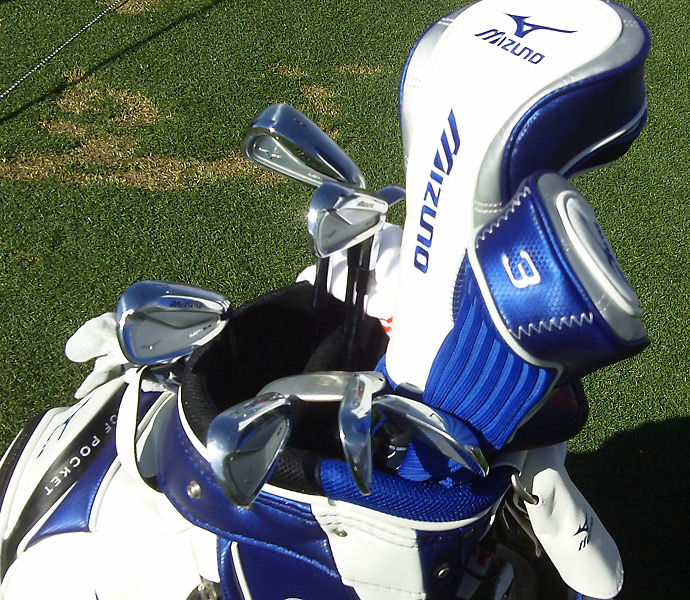 World No. 3 Luke Donald re-signed with Mizuno during the off-season.