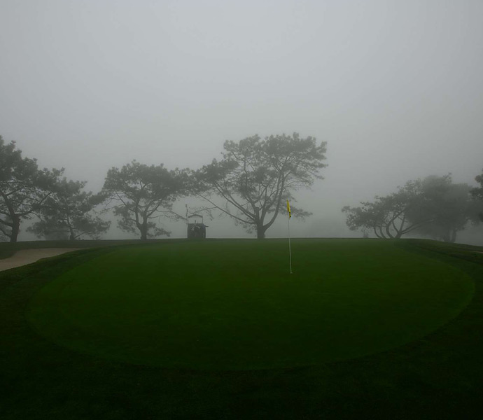 Fog descended on the 2013 Farmers Insurance Open at Torrey Pines, which forced the third round to be cancelled. Here are Sports Illustrated's photos of Torrey under fog.