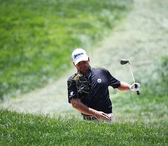 Graeme McDowell was one of the pre-tournament favorites, but he ended up missing the cut.