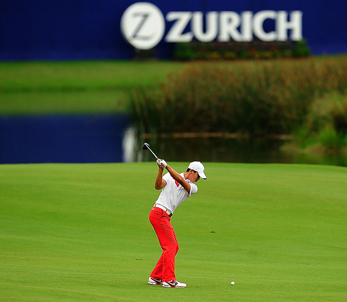 Fourteen-year-old Tianlang Guan shot a 74 and finished 71st.