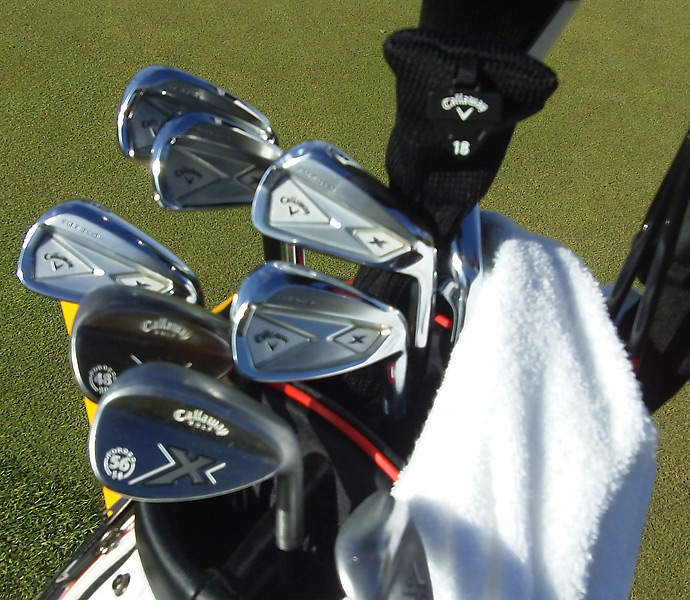 Alexander Noren has Callaway clubs X Forged irons and X Forged wedges.