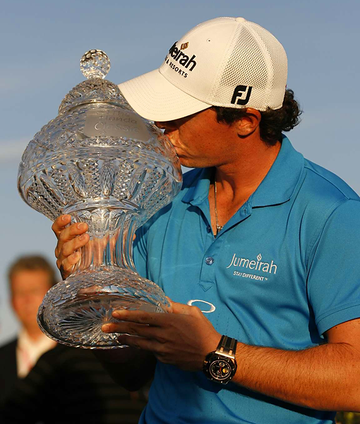 McIlroy led the field in scrambling for the week, and his short game was the key to the victory.