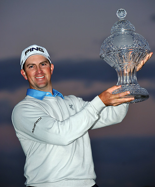 It's was Thompson's first career victory, and earned him a spot at the 2013 Masters and U.S. Open.