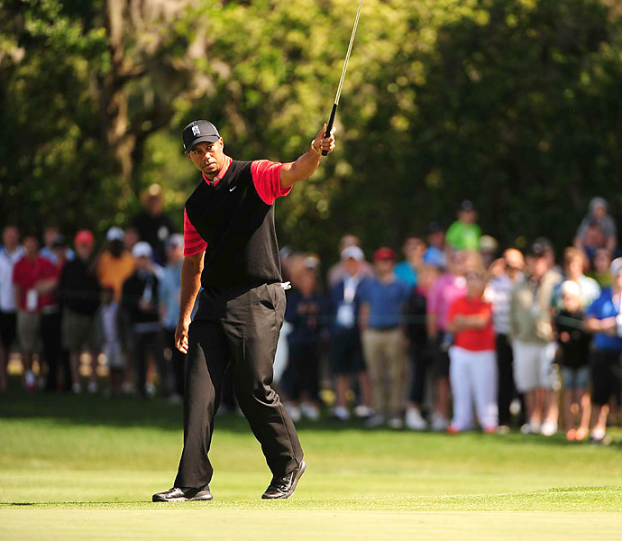Woods's next event will be The Masters.