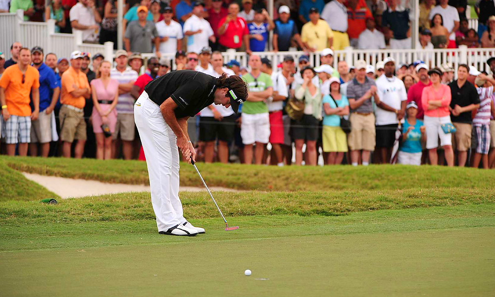 Watson missed the ensuing 10-footer for birdie that would have forced a playoff with Rose.