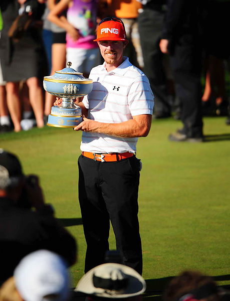 Mahan became the first American to win the Match Play Championship since Tiger Woods in 2008.