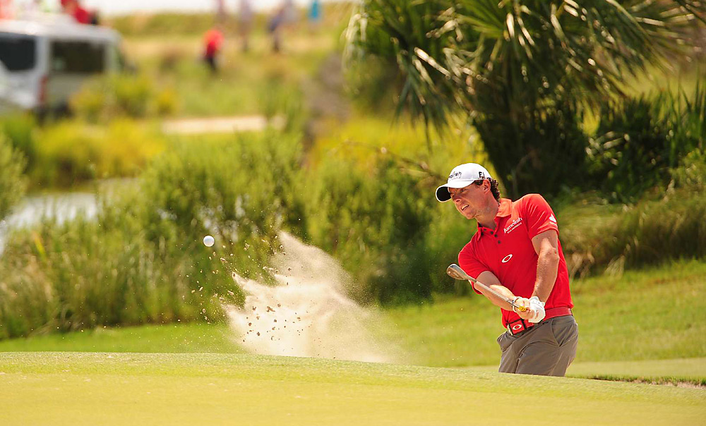 McIlroy had a six-shot lead by the time he entered the closing holes.