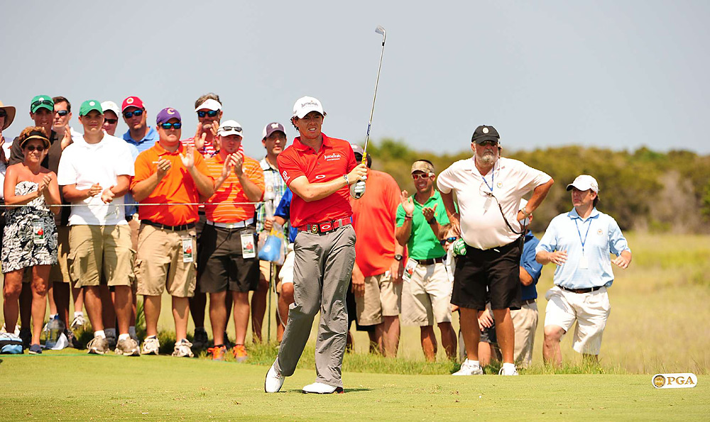 McIlroy did not make a bogey in the final round.