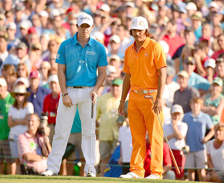 Rory McIlroy and Rickie Fowler are two of golf's biggest talents in a new generation of players.