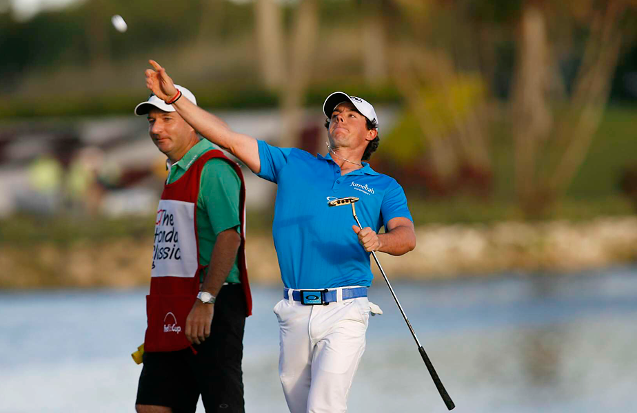 McIlroy made a two-putt par on the 18th hole to clinch a two shot victory -- and the No. 1 ranking for the first time in his career.