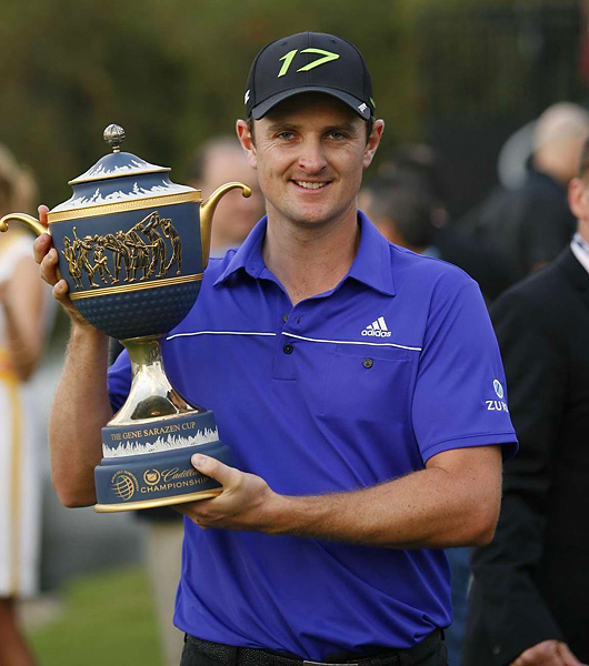 It was the 10th win worldwide for Rose, and his first World Golf Championship.