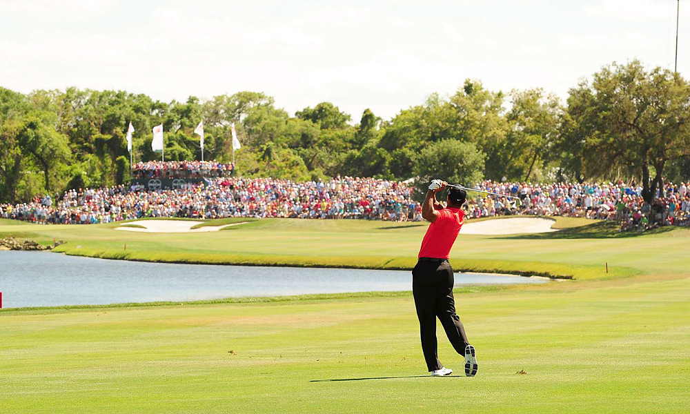 Woods's win was his first since news of his sex scandal broke in the fall of 2009.