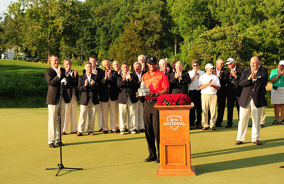 It was Woods's 74th career PGA Tour victory, which passes Jack Nicklaus on the all-time list.