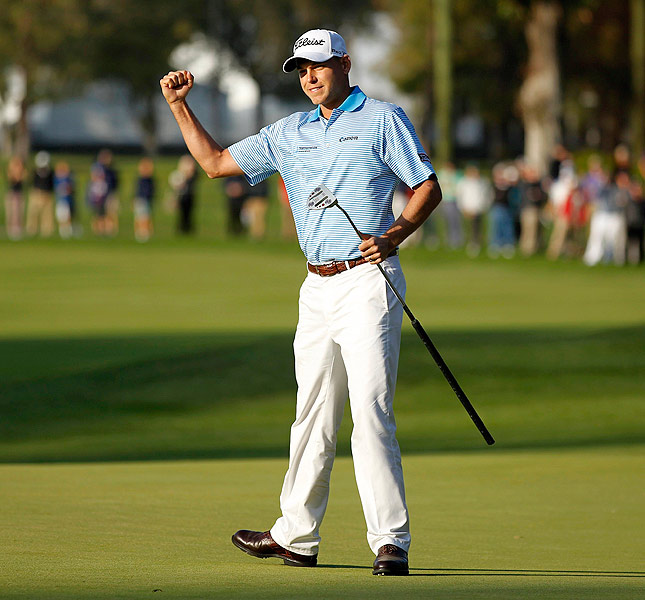 Bill Haas birdied the second playoff hole from 45 feet to earn his fourth career PGA Tour victory -- and stun his playoff opponents, Phil Mickelson and Keegan Bradley.