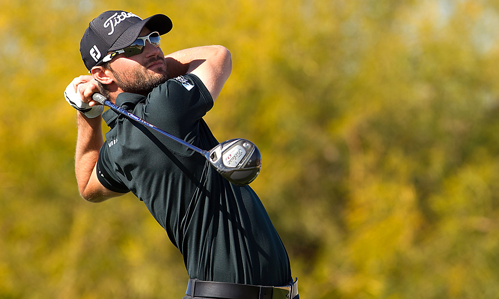 One week after blowing a seven-shot lead in the final round, Kyle Stanley fired a bogey-free 65 to win the Waste Management Phoenix Open for his first PGA Tour victory.