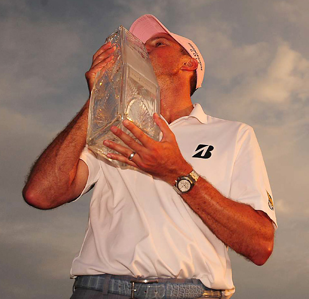 It was Kuchar's fourth career PGA Tour title -- and the biggest win of his career.