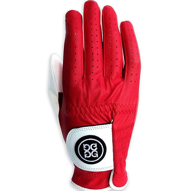 "The Santa Claus Glove                           $35, trendygolf.com                           These premium cabretta leather gloves from G-Fore are in a festive red-and-white color to suit the holiday season. The company calls them its ""Nick""-laus edition. But they are serious gloves, worn on tour."