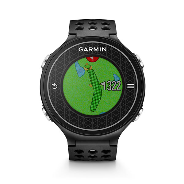 TECHIEST GOLF WATCH                       Squinting into a range finder feels almost as dated as playing balata balls. The latest GPS watch from Garmin means that every needed yardage is just a wrist turn away. The Approach S6 has a database of 38,000 courses and offers highly detailed views of holes and greens. Our favorite feature? It uses a built-in accelerometer to measure your swing tempo, so you can hone the 3:1 backswing-to-downswing ratio that many teachers say is optimal for consistent ballstriking. $399, garmin.com