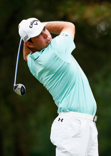 Gary Woodland shot a second-round 71 and was among the group at -6, six shots off the lead.