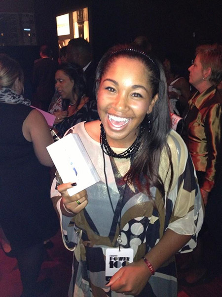 @GingerTHoward: Thanks SO much to @Nationwide! They gave me an iPhone5 as a gift!!! #EBONYpower100