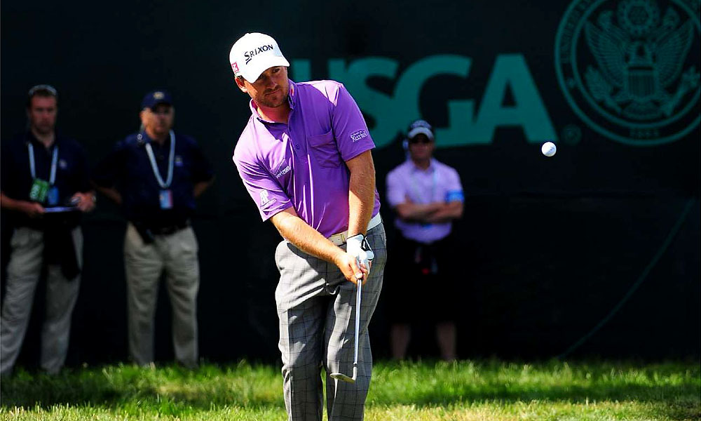 Both co-leaders have won U.S. Opens before: McDowell in 2010 at Pebble Beach, and Furyk in 2003 at Olympia Fields.