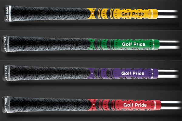are designed for fast swingers, with tacky black Velvet Cord in the upper hand and a soft rubber material in the bottom hand for ultimate control and feel.                           golfpride.com